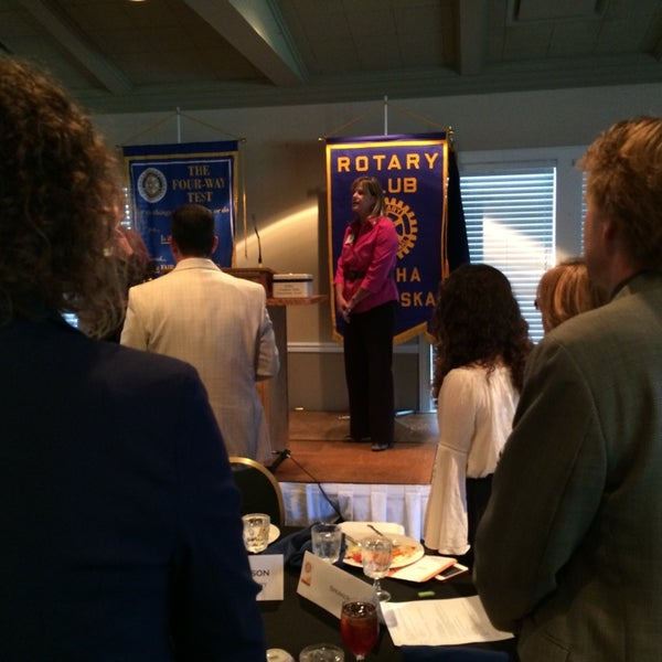 Photo taken at The Rotary Club of Omaha Meetings by Todd M. on 6/11/2014