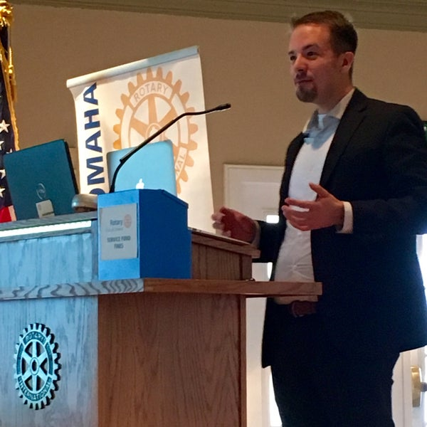Photo taken at The Rotary Club of Omaha Meetings by Todd M. on 3/2/2016