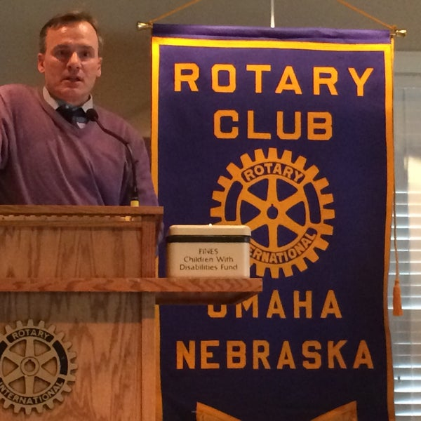 Photo taken at The Rotary Club of Omaha Meetings by Todd M. on 4/29/2015