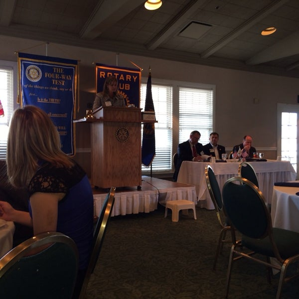 Photo taken at The Rotary Club of Omaha Meetings by Todd M. on 3/12/2014