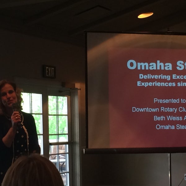 Photo taken at The Rotary Club of Omaha Meetings by Todd M. on 5/21/2014