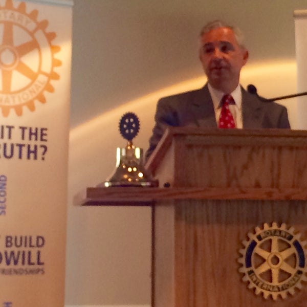 Photo taken at The Rotary Club of Omaha Meetings by Todd M. on 7/1/2015