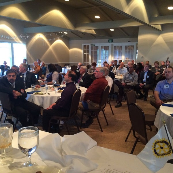 Photo taken at The Rotary Club of Omaha Meetings by Todd M. on 4/22/2015