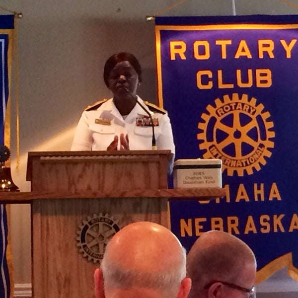 Photo taken at The Rotary Club of Omaha Meetings by Todd M. on 7/16/2014