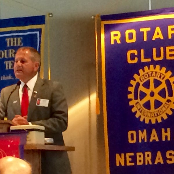 Photo taken at The Rotary Club of Omaha Meetings by Todd M. on 9/24/2014