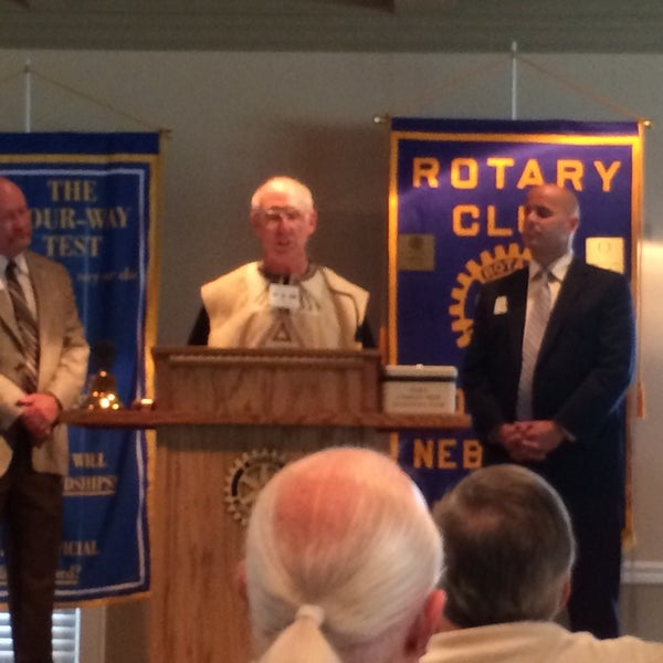 Photo taken at The Rotary Club of Omaha Meetings by Todd M. on 7/9/2014