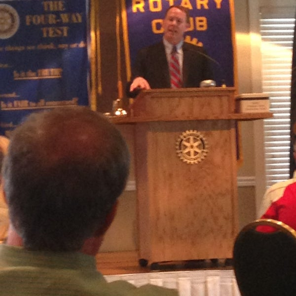 Photo taken at The Rotary Club of Omaha Meetings by Todd M. on 8/14/2013