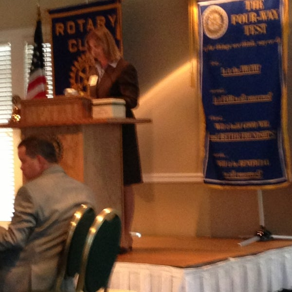 Photo taken at The Rotary Club of Omaha Meetings by Todd M. on 8/7/2013