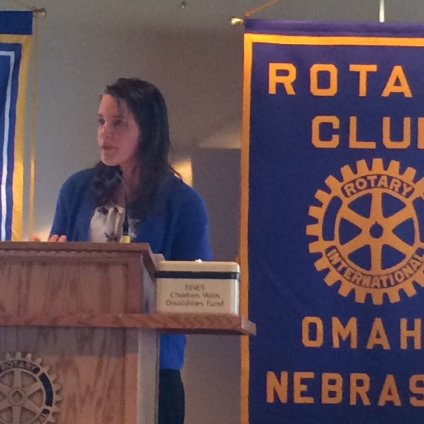 Photo taken at The Rotary Club of Omaha Meetings by Todd M. on 3/18/2015