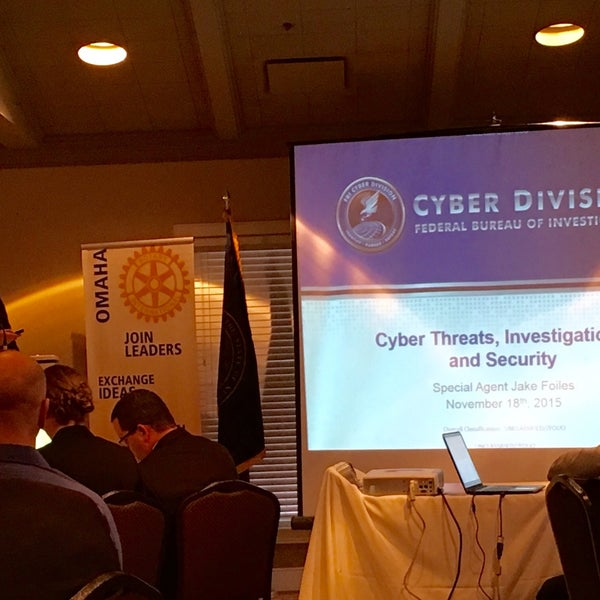 Photo taken at The Rotary Club of Omaha Meetings by Todd M. on 11/18/2015