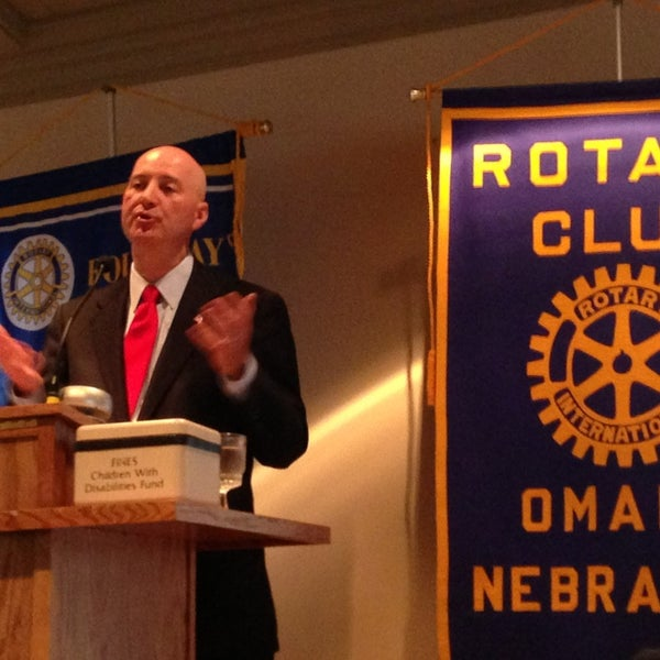 Photo taken at The Rotary Club of Omaha Meetings by Todd M. on 5/29/2013
