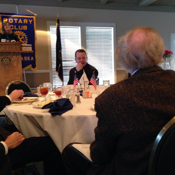 Photo taken at The Rotary Club of Omaha Meetings by Todd M. on 12/11/2013