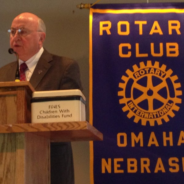 Photo taken at The Rotary Club of Omaha Meetings by Todd M. on 4/10/2013