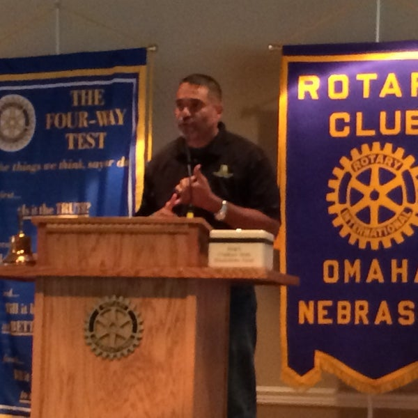 Photo taken at The Rotary Club of Omaha Meetings by Todd M. on 8/27/2014