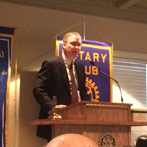 Photo taken at The Rotary Club of Omaha Meetings by Todd M. on 12/10/2014