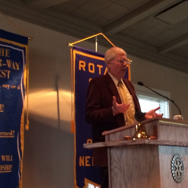 Photo taken at The Rotary Club of Omaha Meetings by Todd M. on 4/30/2014