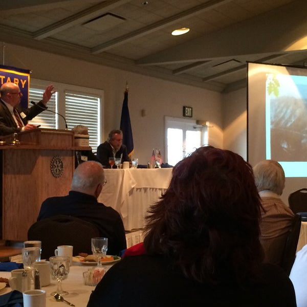 Photo taken at The Rotary Club of Omaha Meetings by Todd M. on 4/1/2015