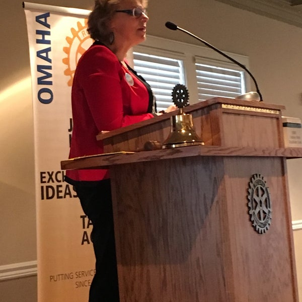 Photo taken at The Rotary Club of Omaha Meetings by Todd M. on 12/9/2015