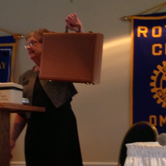 Photo taken at The Rotary Club of Omaha Meetings by Todd M. on 11/14/2012