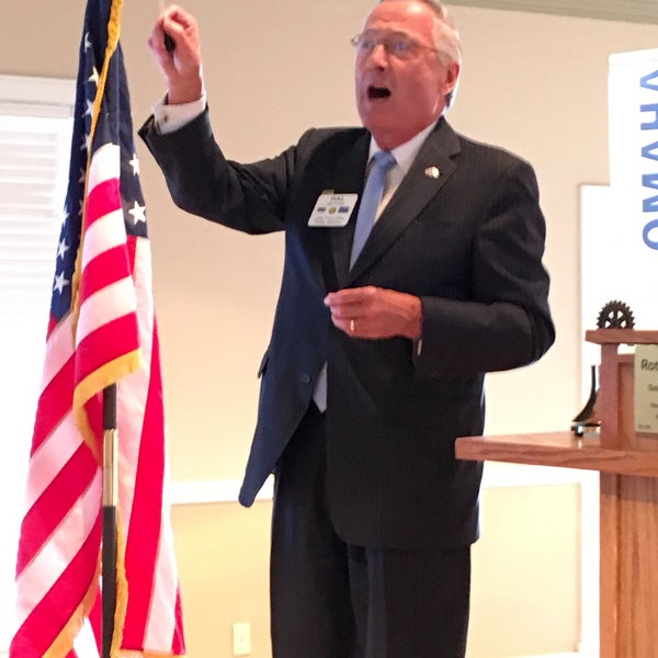 Photo taken at The Rotary Club of Omaha Meetings by Todd M. on 8/24/2016