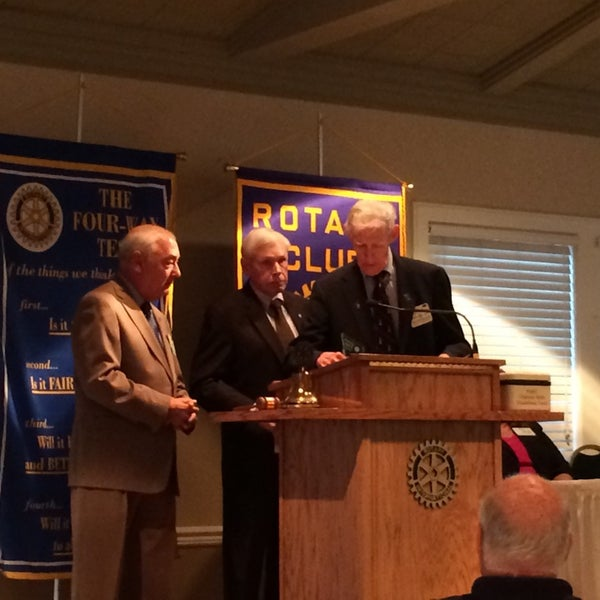 Photo taken at The Rotary Club of Omaha Meetings by Todd M. on 8/6/2014