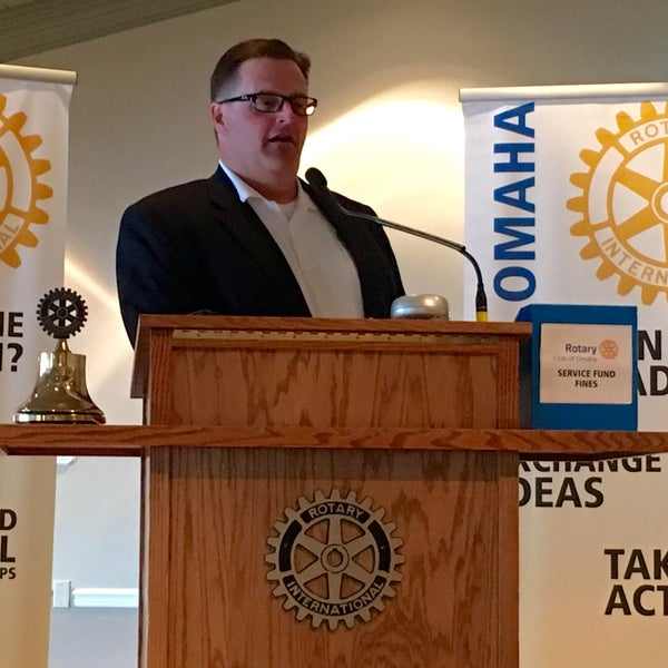 Photo taken at The Rotary Club of Omaha Meetings by Todd M. on 5/25/2016
