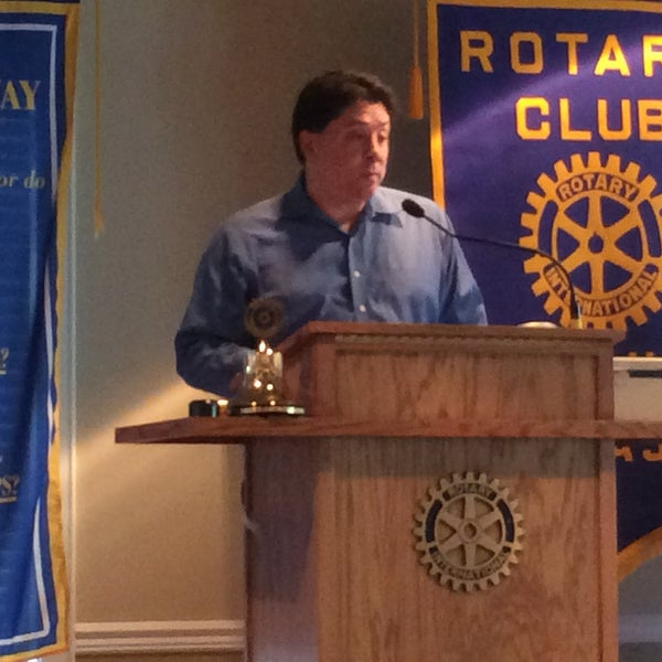 Photo taken at The Rotary Club of Omaha Meetings by Todd M. on 5/13/2015