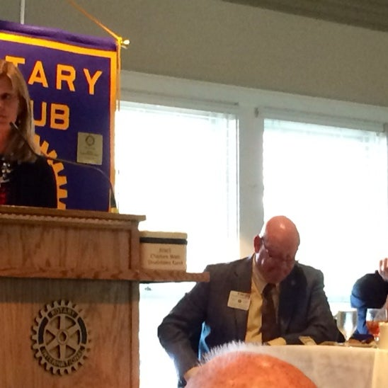 Photo taken at The Rotary Club of Omaha Meetings by Todd M. on 6/25/2014