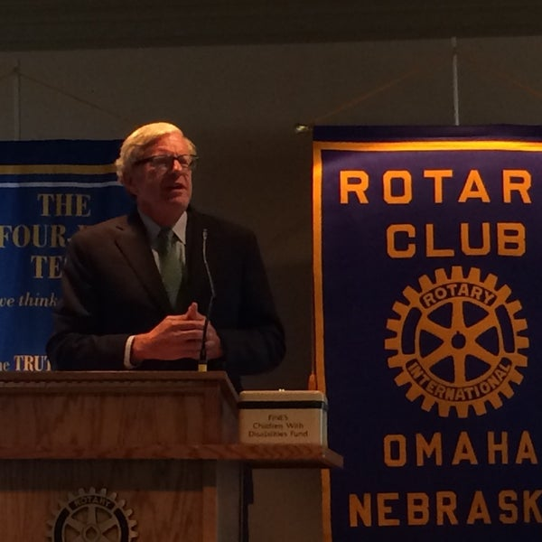Photo taken at The Rotary Club of Omaha Meetings by Todd M. on 9/10/2014