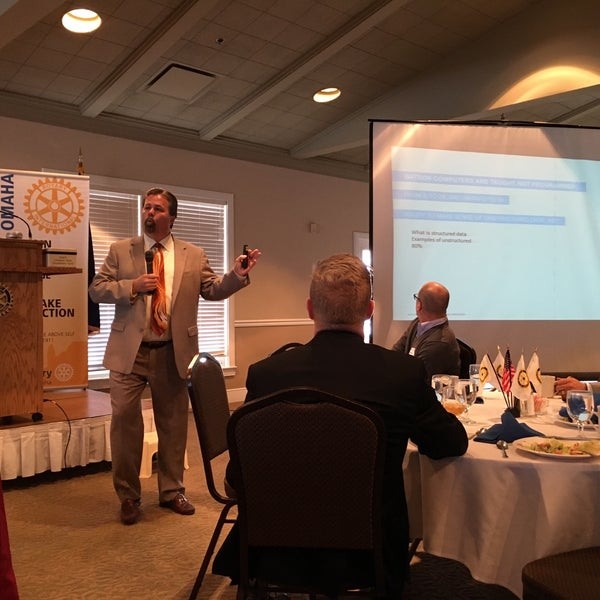 Photo taken at The Rotary Club of Omaha Meetings by Todd M. on 10/28/2015
