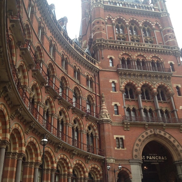 Photo taken at London St Pancras International Railway Station (STP) by Marianna V. on 5/22/2013