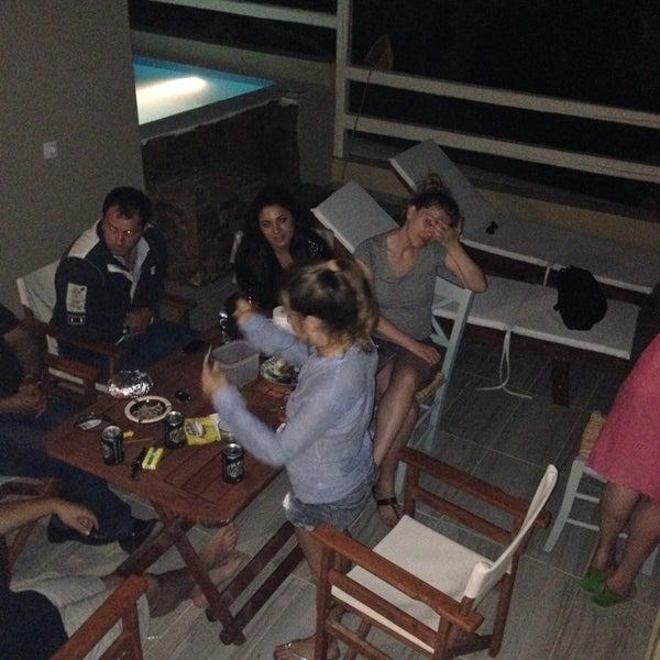 Photo taken at Silene Villas Hotel by Marianna V. on 6/8/2014