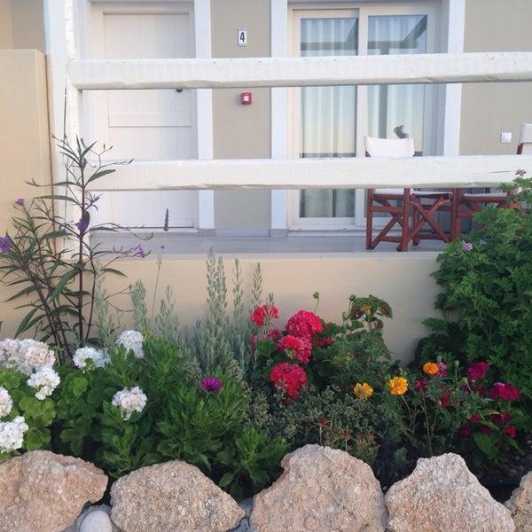 Photo taken at Silene Villas Hotel by Marianna V. on 7/15/2014