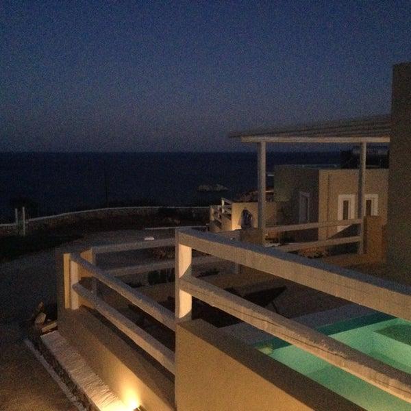 Photo taken at Silene Villas Hotel by Marianna V. on 6/23/2014