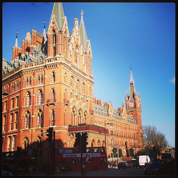 Photo taken at London St Pancras International Railway Station (STP) by Pieter B. on 1/27/2013