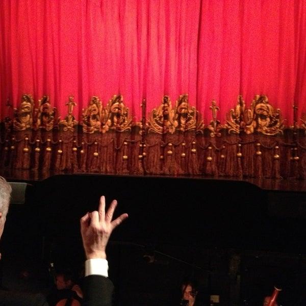 Foto tirada no(a) Majestic Theatre por Felipe M. em 2/8/2013