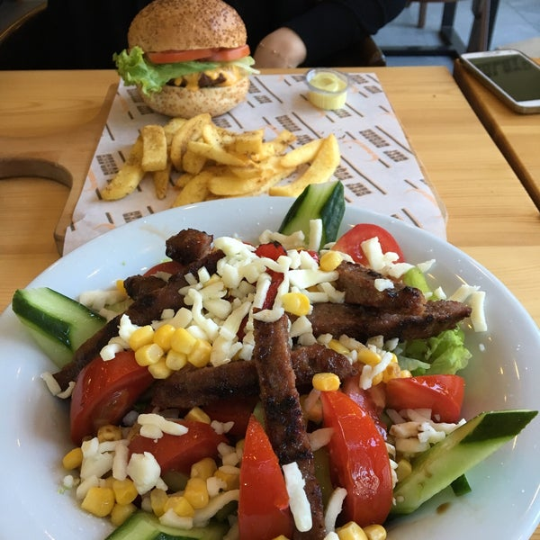 نتيجة بحث الصور عن ‪Best Salad and Burger Restaurants in Bursa‬‏