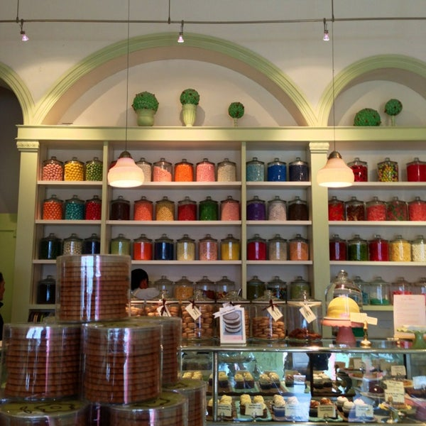 Photo taken at Miette Patisserie by Tess C. on 3/19/2013