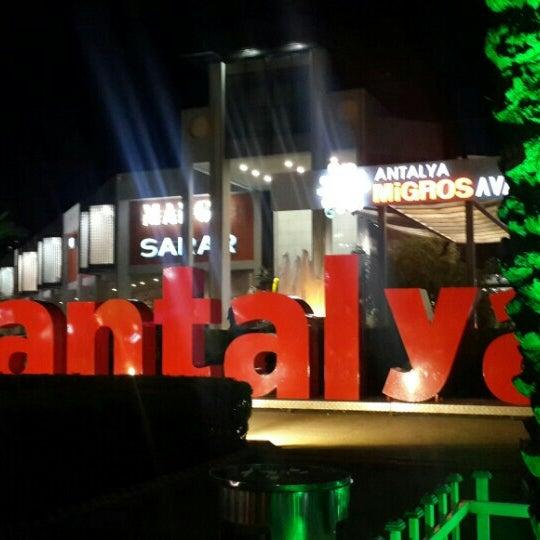 3/6/2016 tarihinde Fatma K.ziyaretçi tarafından Antalya Migros AVM'de çekilen fotoğraf