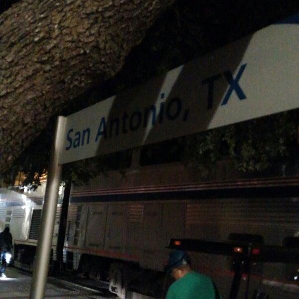 San Antonio Amtrak Station Sas Train Station In San