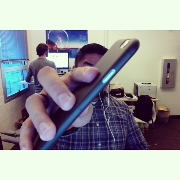 Photo taken at Jawbone HQ by James G. on 1/6/2015