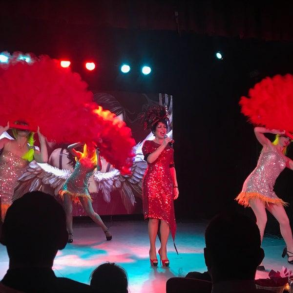 Снимок сделан в Театр-кабаре на Коломенской/ The Private Theatre and Cabaret пользователем Ирина К. 2/16/2018