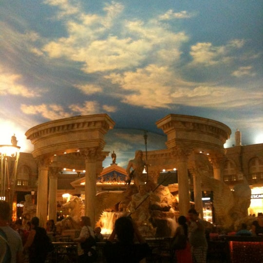 Photo taken at Caesars Palace Hotel & Casino by Kimmie S. on 6/3/2012