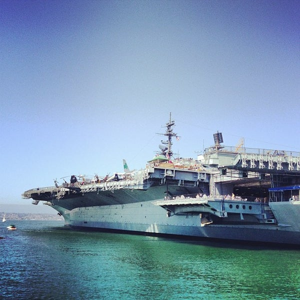 Photo taken at USS Midway Museum by Marco E. on 9/14/2013