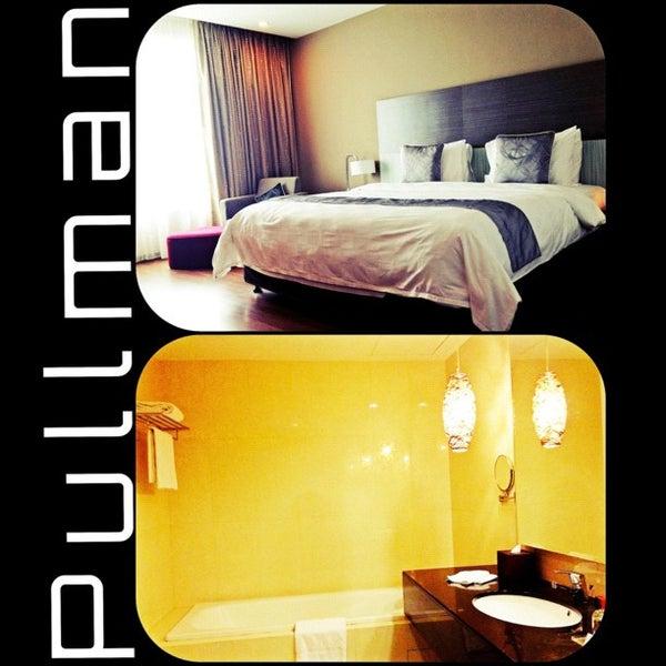 Photo taken at Pullman Kuching by Dina N. on 12/1/2012