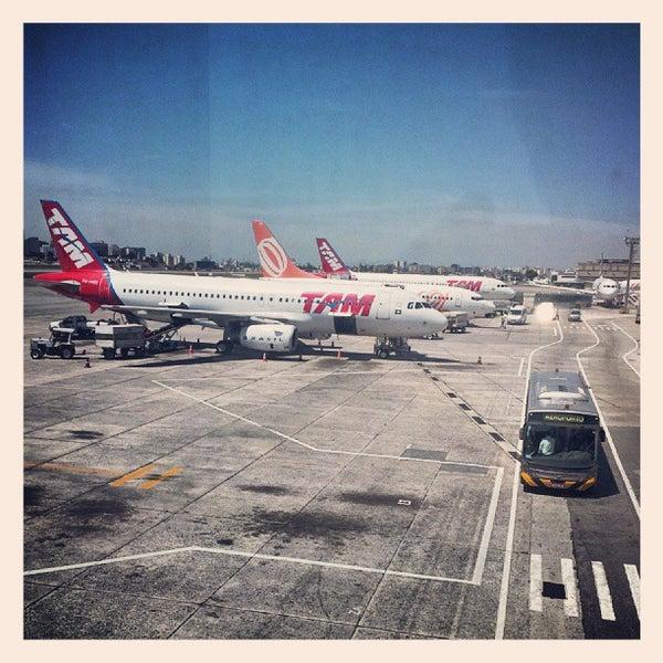 Снимок сделан в Международный аэропорт Конгоньяс/Сан-Паулу (CGH) пользователем fabio v. 9/21/2013