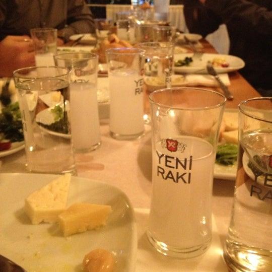 Photo taken at Sıdıka Meze Restoranı by Meltem A. on 12/4/2012