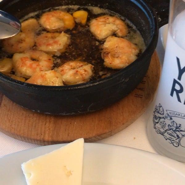 12/9/2017 tarihinde _C_IGDE_M_ziyaretçi tarafından Hanımeli Balık Restaurant'de çekilen fotoğraf