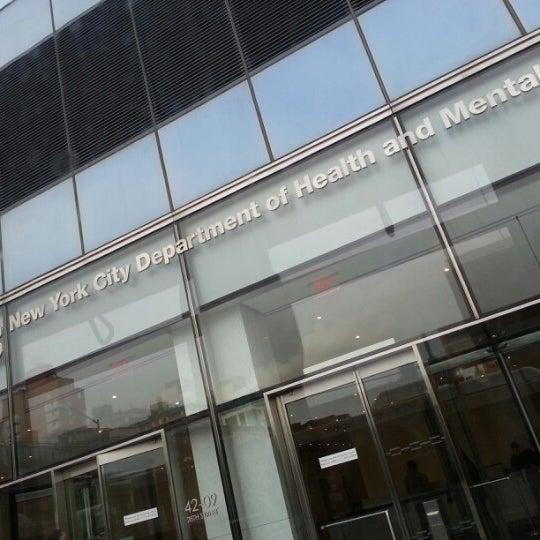 NYC Department Of Health & Mental Hygiene