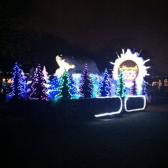 Photo Taken At Brookfield Zoo By Vicky S. On 12/2/2012